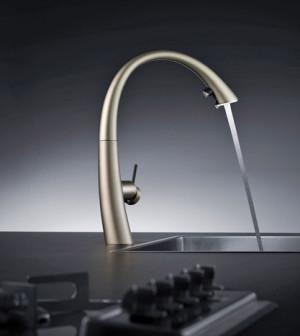 Armaturen küche  mehr Farbe für die Küche – Armaturen in edlen Oberflächen – Magazin ...