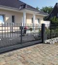 Tatort Gartenzaun