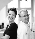 Dirk Seiger und Ines Effenberger