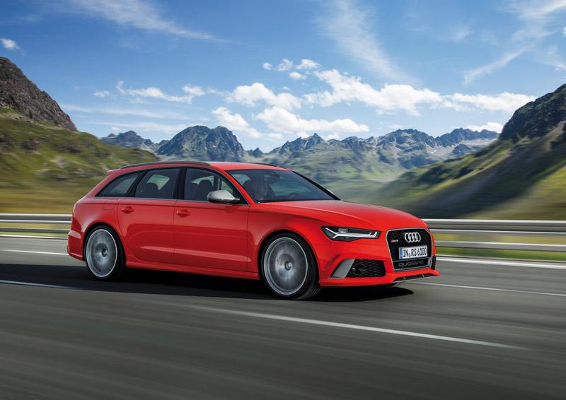 Audi RS6 Avant - Foto Hersteller