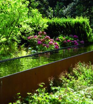 Große Wirkung mit Wasser im Garten