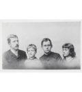 Die Mann-Geschwister, von links: Heinrich, Carla, Thomas und Julia Mann, ca. 1889. ETH-Bibliothek Zürich, Thomas-Mann-Archiv / Fotograf: Unbekannt