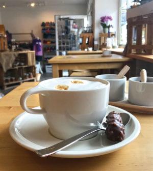 Kaffeepause bei Snabbelsnuut