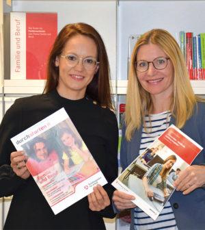 Katrin Goldenbohm(links), Melanie Fischer
