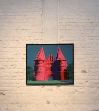 © Foto: Warhol Holstentor: Fotoarchiv Kunsthalle St. Annen © Eva Lucas-Karberg, Sereetz / Warhol Andy / Holstentor / 2008-126 Copyright Andy Warhol Foundation for the Visual Arts Artists Rights Society ARS New York / Andy Warhol: Galerie Reese