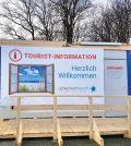 Voruebergehende Tourist-Information Scharbeutz